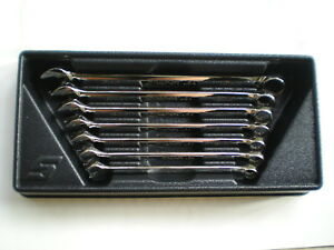 Snap On 7 Piece Metric 12 Point Wrench Set