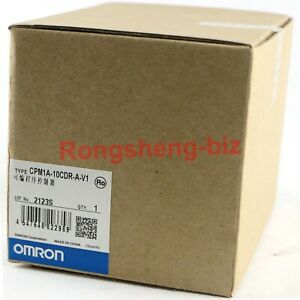 1pc New Omron Cpm1a 10cdr a v1 Programmable Controller 240vac 10 I o Terminals