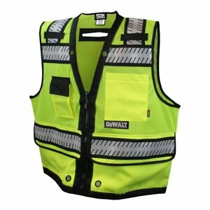 Dewalt Class 2 Heavy Duty Surveyor Vest Large