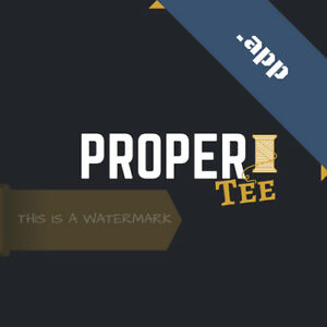 Propertee app Tld Domain Brandable Clothing Co apparel T shirts With Logo