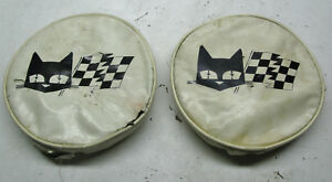 Marchal Fog Driving Light Covers Vintage Pair