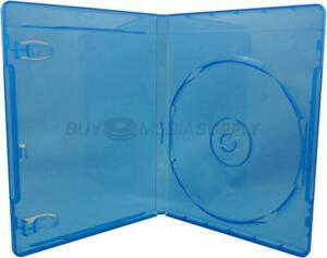 12mm Standard Blu ray 1 Disc Dvd Case 80 Pack