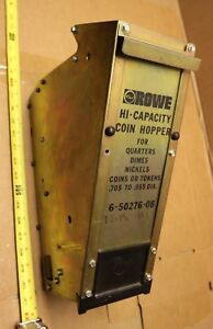 Rowe Bill Changer Machine High Capacity Coin Hopper Cleaned Tested 6 50276 08