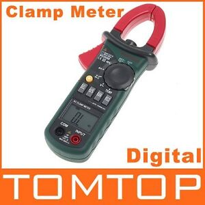 New Ms2008a Mini Ac Current Clamp Meter Backlight Datahold Auto Power