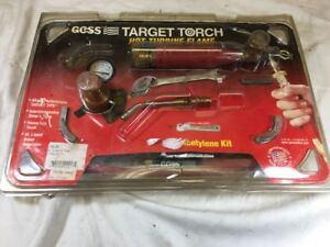 Goss Kx 5b Soldering Brazing Torch Kit For b Acetylene Tanks Ga 5 Target Tip