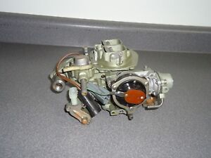 Reman Holley 6510 2 Barrel Carburetor 60049 1984 Chevy Chevrolet Chevette 1 6l