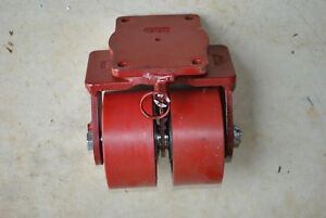 Hamilton Dual Swivel Caster 040582 500121 Industrial Heavy Duty Wheel
