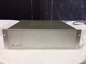 Pts Programmed Test Sources Model 500 R7n1x Frequency Synthesizer 1 500mhz 8152s