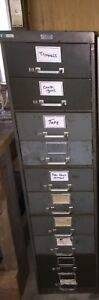 Vintage 1930s The General Fireproofing Co Computer Tabulating Cabinets