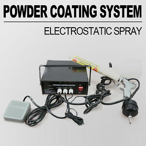 Portable Powder Coating System Paint Gun Pc03 5 10 15 Psi 5cfm Air Paint Gun