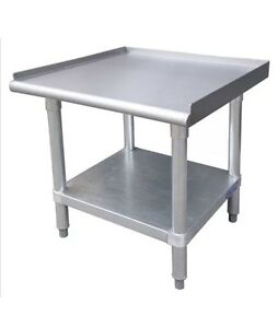 Stainless Steel Equipment Stand 24 X 24 Nsf Approved New
