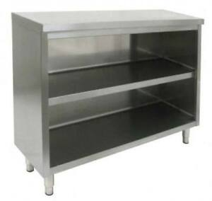 Commercial Stainless Steel 24 x48 Storage Dish Cabinet Nsf Approved