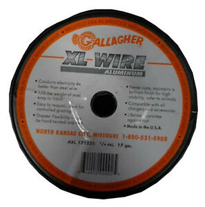 Electric Fence Wire 17 ga Aluminum 1320 ft