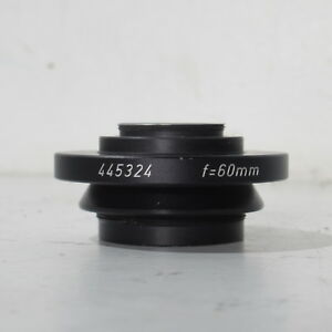 Leica F 60mm C mount Adapter For Surgical Microscope Camera Splitter 445324