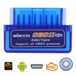Mini Elm327 Obd2 Ii Bluetooth Auto Car Obd2 Diagnostic Interface Scanner Tool Sf