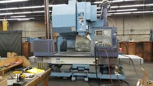 Okk Mcv 660 Cnc Vertical Machining Center