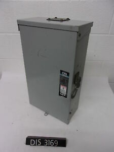 Ite 240 Volt 100 Amp Fused Disconnect Safety Switch dis3169