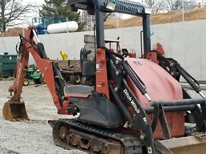 2009 Ditch Witch Xt1600 Mini Excavator Front End Loader Only 1314 Hours