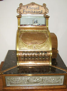 Ice Cream Soda Fountain National Cash Register Model 52 1 4 Ncr Barber Shop