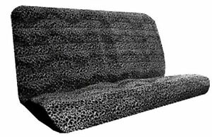 Universal Fit Animal Print Bench Seat Cover Cheetah Black And White