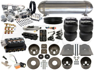 Complete Air Ride Suspension Kit 1964 1972 Chevelle Level 4 W Accuair Elevel