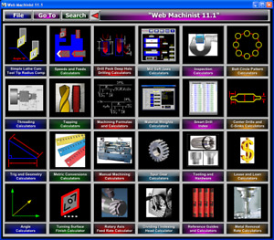 Machine Shop Inspection Tools Calculation Software 75 Calculators Included