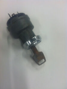 1968 Mopar Dodge Plymouth B body Ignition Switch With Bezels And Key