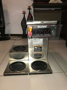 Bunn Cwtf15 Automatic Commercial Coffee Machine Brewer 3 Warmer