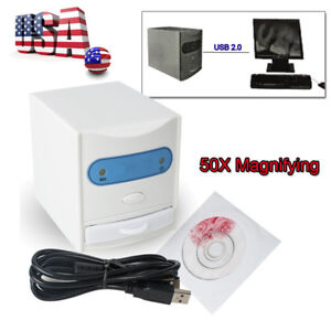 White Digital X Ray Dental Film Reader Scanner Periapical Films Viewer Digitizer