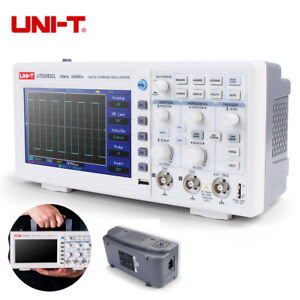 Uni t Utd2052cl 7 Lcd 2ch Digital Storage Oscilloscope 50mhz 500ms s Languages