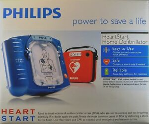 New Factory Sealed Philips Heartstart Home Aed Defibrillator M5068a Red Case