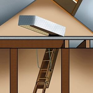 Gurgle Stair Cover Pull down Attic Ladder Insulation Kit 25 X 54 X 11 Atti