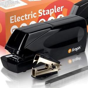 Jiraph Electric Stapler With Staple Remover And 25 sheet Capacity Loaded With