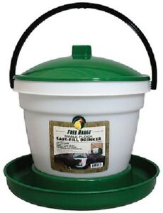 Harris Farms 1000266 3 5 Gallon Large Flock Poultry Game Bird Waterer Drinker