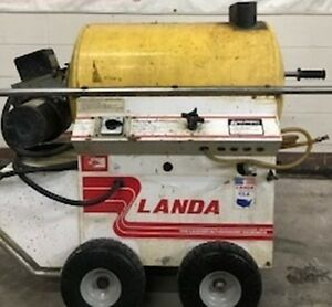 Used Landa Phw3 120v Diesel 2 8 Gpm 1000psi Hot Water Pressure Washer