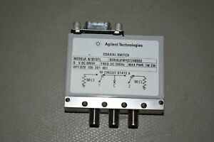 Agilent N1810tl Dc 20ghz Coaxial Switch Opt 020 105 201 401