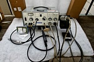 Pace Soldering Station Clean Very Low Mileage Private Use With Pace New Irons