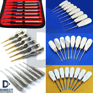 Dental Luxating Elevators Pdl Periotome Luxation Root Extracting Extraction Kit