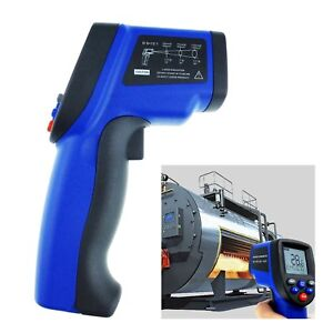 Digital Thermometer Infrared Ir Laser 58 1742 f Household Industrial Tester