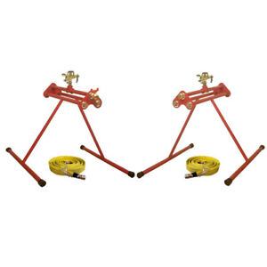 Pack Of 2 Units Esg 1 esg 2 Sprinklers System With 2x25 Fire Hoses Best Value
