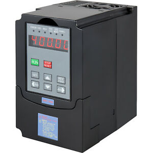 1 5kw 110v Variable Frequency Drive 2hp Vfd Capability Single Phase 3 Phase