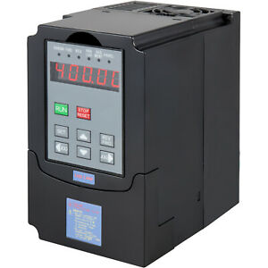 1 5kw Variable Frequency Drive Inverter 2hp 13a 110v Vfd Vsd 1 3 Phase Spwm Us