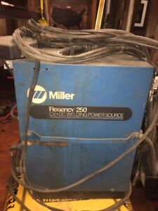 miller Welder Regency 250 Cv dc Power Source