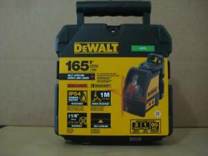 Dewalt Dw088k Cross Line Laser Level 165 50m Range brand New