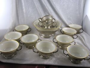 Sterling Silver Soup Bowls Sterling Soup Tureen W Inserts