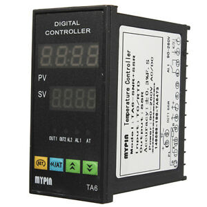 Digital Pid Temperature Controller 6ft 25a Relay k Type Thermocouple