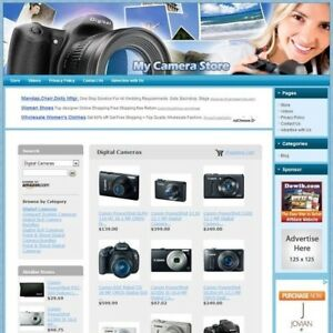 Camera Store Fully Automated Online Business Work At Home Potential Income