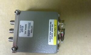 Agilent 8762c Coaxial Switch Dc To 26 5ghz Spdt 3 5mm 24v 1 25db Loss 26 Ghz