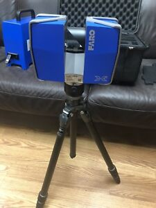 Faro Focus 3d X330 Laser Scanner W Tripod Reference Spheres And Accessories