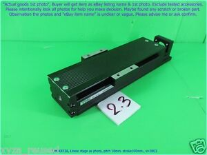 Thk Kr33a Linear Stage As Photo Pitch 10mm Stroke100 Sn 0833 D m Mov
